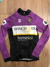 Manchester University Cycling Club Womens Long Sleeve Jersey (Small)