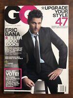 MARCH 2008 GQ GENTLEMEN'S QUARTERLY MAGAZINE, ERIC BANA, CASSIE