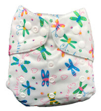 IXYVIA Baby Cloth Diapers Resizable Adjustable Washable Pocket Nappies #9