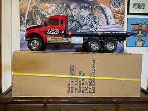 Traxxas Snap On 6x6 Flatbed Hauler Limited Edition in Rare Condition - RTR - NIB