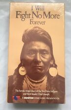 I Will Fight No More Forever VHS . SEALED