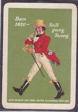 Jonnie Walker Whisky,Vintage Single Playing Card