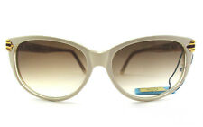 occhiale da sole Sandra Gruber vintage donna mod. Nizar 908 col.beige/oro/trasp