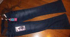 Sz 3 Wallflower Fit & Flare STARLETTE Jeans Juniors Mason Jean w/ Belt Denim