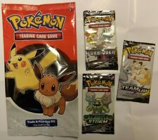 POKEMON TRADE & PLAY DAY KIT BOOSTER PACK plus 3 packs of 3 cards