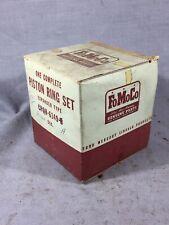 Ford truck Lincoln y-block piston rings 1952-1955 317 V8 STD B2QH-6149-A NOS