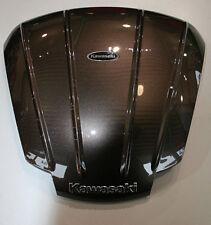 Originales Kawasaki Topcase Cover GTR 1400 Magnesium Grey / braun von BikerWorld