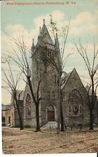 Early 1900's The First Presbyterian Church in Parkersburg, WV West Virginia PC