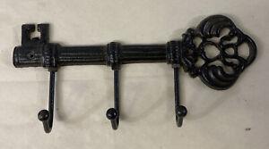 "Metal Key Holder Wall Mounted Entryway Hanger Key Organizer 9.5"""
