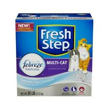 Cat Litter, Multi-Cat Scoopable, Scented, 25-Lbs.