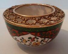 Très joli petit pot porcelaine de Nyon ou Samson décor Chinois XIXème