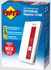 AVM FRITZ!WLAN Repeater Extender 1750E Dual-WLAN AC + N OVP NEU Rechnung/Garant