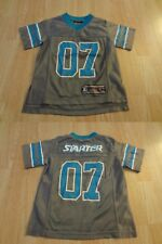 Youth Starter S #07 Football Jersey (Gray & Light Blue) ® Jersey