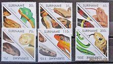 Suriname 1991 Snakes Set. MNH.