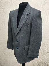 "Vintage Men's Harris Tweed Blazer Jacket 40"" Chest"