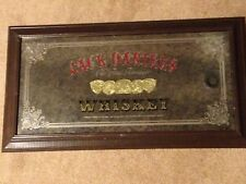 "Vintage Jack Daniel'S Old Time Tennessee Whiskey Bar Pub Mirror 29"" X 16"""