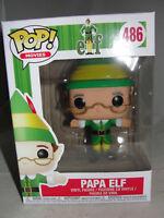 Funko Pop Movies Elf Papa Elf Christmas Vinyl Figure-New
