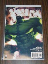 HULK INCREDIBLE #36 MARVEL COMICS MARCH 2002 NM (9.4)
