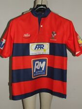 SHIRT TRIKOT MAILLOT RUGBY SPORT MILAZZO n °25 size M