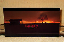 """Unforgiven"" W-Clint Eastwood & M. Freeman Movie Poster Tabletop Display Standee"