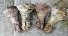 Set of 4 CAST IRON BathTub Claw Feet Legs Eagle Ball, all screws & clamps  work