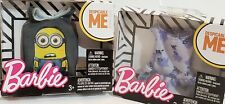 NEW GREY DESPICABLE ME MINIONS TANK TOP FOR KEN & PURPLE SHIRT FOR BARBIE