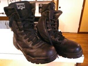 Hi-tec Magnum Boots mens size 8 tactical law enforcement armed services combat