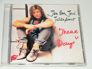 JON BON JOVI Talks About 'These Days' Very Rare Hong Kong Promo Picture CD