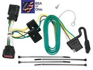 Tekonsha Trailer Hitch Wiring Tow Harness For Chevrolet Impala 2006 2007 2008