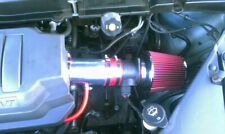 Short Ram Air Intake Kit + RED Filter for 07-11 GMC Acadia SLE/SLT/SL/Denali V6