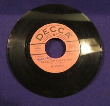 BILL PHILLIPS The Company You Keep/The Lies Just Cant Be True 45 Record SIGNED