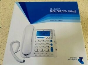 Telstra  T800 Corded Home Phone BIG BUTTON SENIORS phone