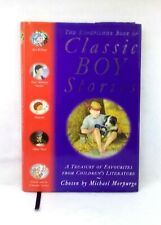 The Kingfisher Book of Classic Boy Stories chosen Morpurgo illustrated hardcover