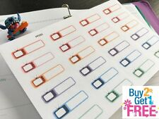 PP253 -- Small TV Show Reminder Life Planner Stickers for Erin Condren (24pcs)