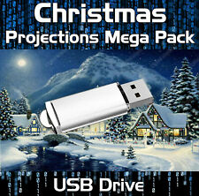 CHRISTMAS DIGITAL PROJECTION PARTY DECORATION ON USB