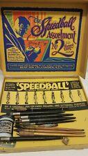 Antique Calligraphy Writting Pens Tips 1927 Speedball No. 2 Set