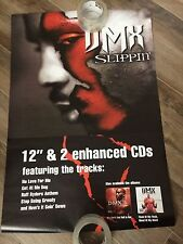"DMX VERY RARE MINT CONDITION ""SLIPPIN"" PROMO/RETAIL POSTER JUST REMOVED FROM PLA"