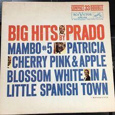 "Perez Prado & His Orchestra BIG HITS BY PRADO 7"" vinyl{Compact33Double} Mambo #5"