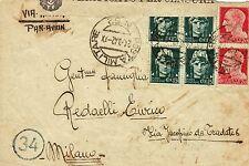 """G242-II WW., P.M. 62 SU BUSTA, ISOLA SAMO PER MILANO, 6° DIV. FANT. """"CUNEO"""",1942"""