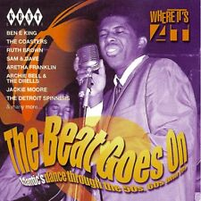 "THE BEAT GOES ON...  ""ATLANTIC'S DANCE THROUGH THE 50's, 60's AND 70's""  CD"