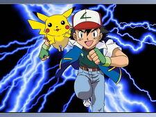 "34 Pikachu - Japanese Anime Pokemon Game 19""x14"" Poster"