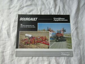 Bourgault fertilizer applicators brochure