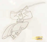 Samurai Jack Original Animation Production Drawing - Cartoon Network COA