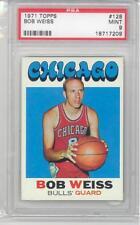 1971 Topps Basketball Bob Weiss (#128) PSA9 PSA
