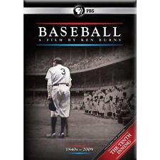 NEW 2010 PBS 11 DVD Set BASEBALL 1840s-2009 The Tenth Inning By Ken Burns 10th
