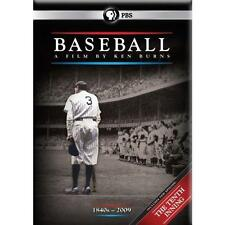 Baseball: A Film by Ken Burns (DVD, 2012, 11-Disc Set)  - New and Sealed