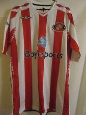 Sunderland 2007-2008 Home Football Shirt Size Large /22362 umbro jersey mackems