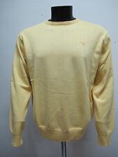 GANT suéter de hombre algodón cuello redondo 83071 col. amarillo tg.XXL verano