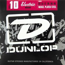 JIM DUNLOP ELECTRIC GUITAR STRING SET MEDIUM 10-46 GAUGE MEDIUM NICKEL PLATED