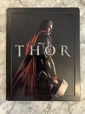 THOR STEELBOOK (Blu Ray + DVD) RARE OOP GRAIL- Marvel Avengers + PROTECTOR